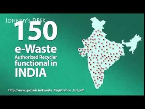 E waste management in india - YouTube