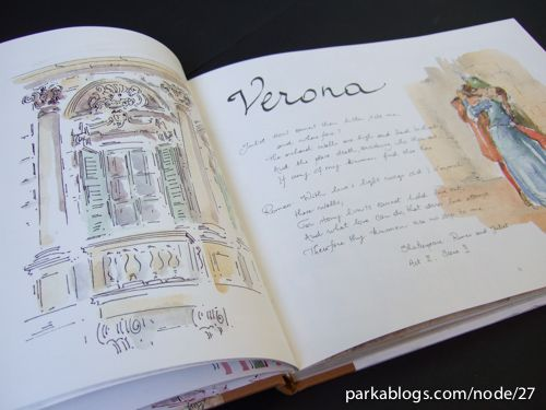 Book Review: My Italian Sketchbook | Parka Blogs