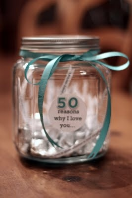 50 reasons I love you - (40 for the next milestone here?)