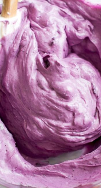 Fresh Blueberry Cream Cheese Frosting.....
