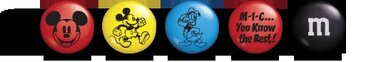 Mickey and M&Ms