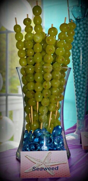 divertida manera de servir fruta!!