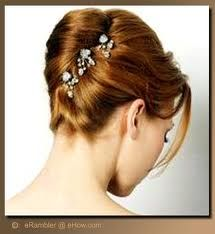 retro french twist for weddings - Google Search