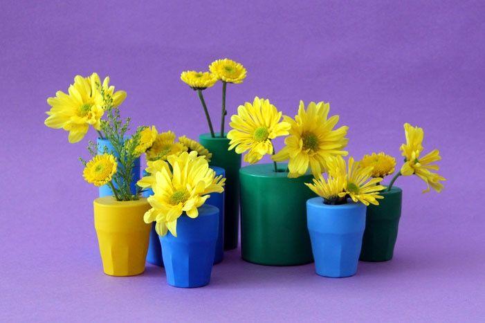 DIY Basics: Balloon Bud Vases