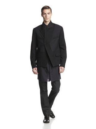 -36,400% OFF Alexandre Plokhov Men's Unstructured Blazer (Black)