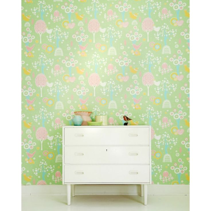 Cherry Valley Wallpaper by Majvillan | Available from www.wallpaperantics.com.au