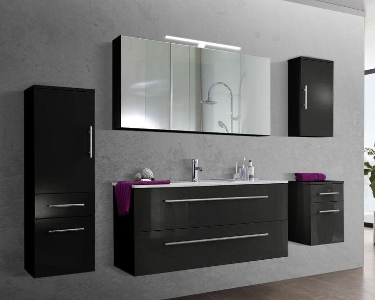 Badezimmer Schrank Flach