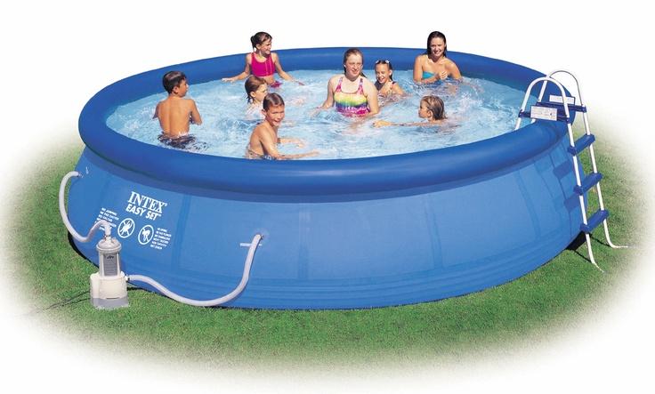 9 best pools und schwimmbecken images on pinterest for Koi intex pool