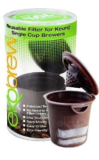 Ekobrew reusable K-cup. Save up to 70% on coffee cost! 100% BPA free. Compatible with Keurig, Mr. Coffee and Breville. #MadeinUSA www.nortonsusa.com