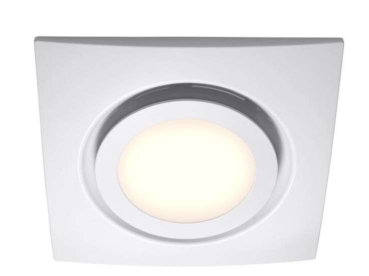 White Exhaust fan with LED Light - bathroom