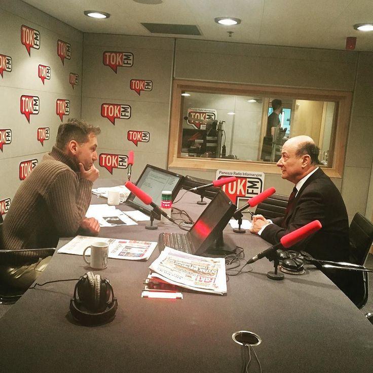 Jacek Rostowski i Piotr Kraśko w Poranku #TOKFM. #radio #gospodarka #Rostowski #Kraśko #finanse #polityka #PlatformaObywatelska #PO #TOKFM