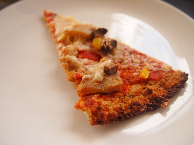 Cauliflower Pizza Base (Gluten Free) #HungryCub