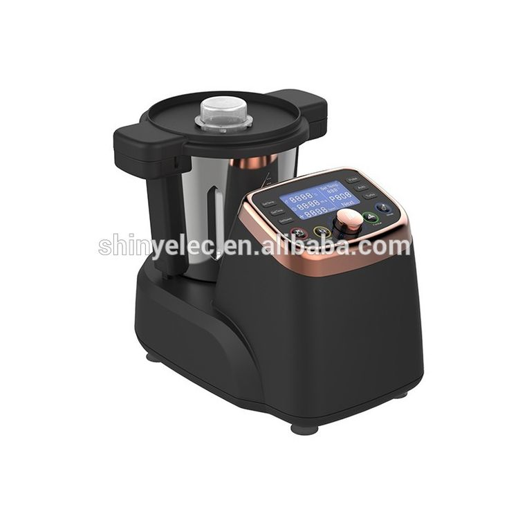 Kitchen mixer with cooking steaming function thermo