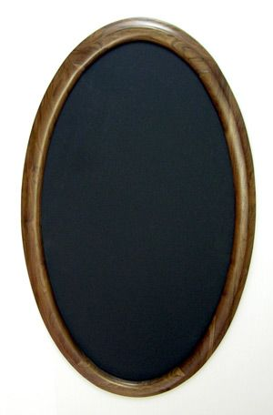 Oval Picture Frames made for a special shape