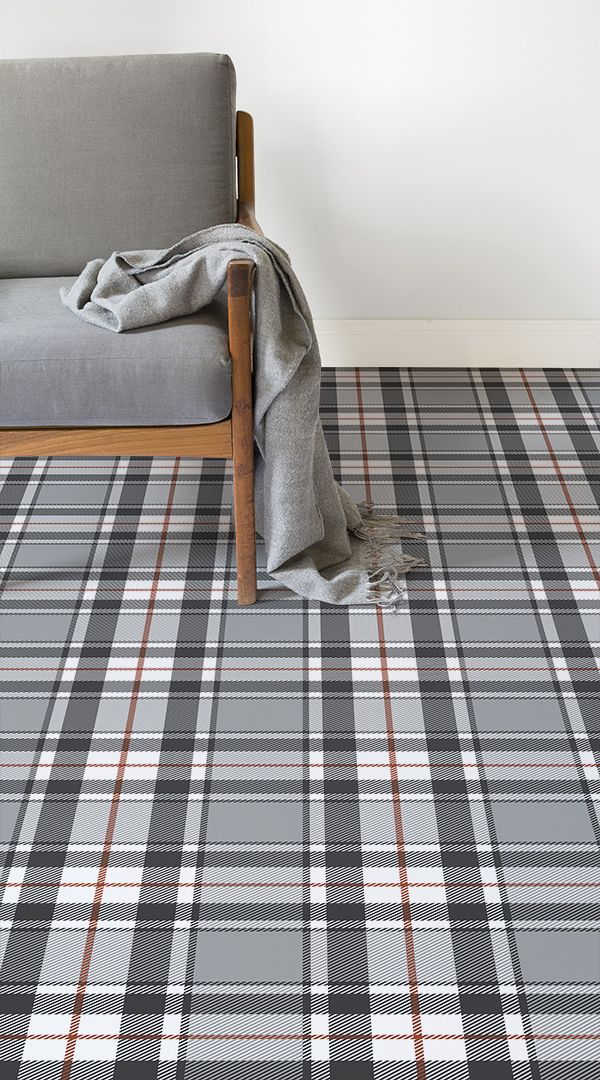Tartan In 2020 Vinyl Flooring Patterned Vinyl Scottish Decor