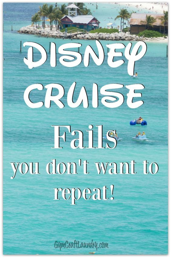 Disney Cruise Fails :( There were so many things I would do differently if we go on another Disney Cruise again! Don't make the same mistakes I made when sailing with the Disney Cruiseline.