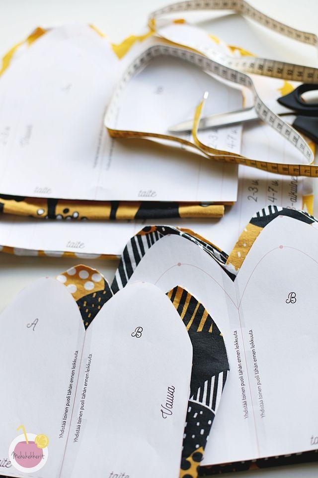 Trikoopipon kaava ja ohje pipon ompeluun |