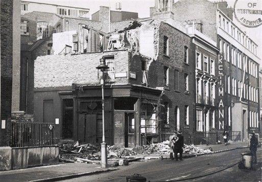 Photo:Regency Street SW1, December 1940