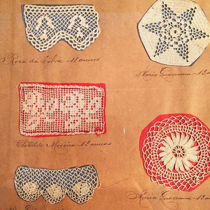 "ffactory:  ""Needlework portfolio samples, 1892 (detail); Philadelphia Museum of Art  """