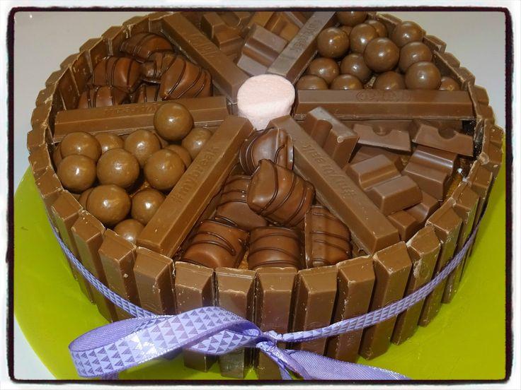 Gâteau kitkat kinder