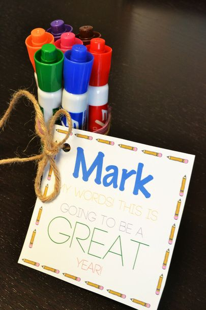 Everyone gives gifts at the end of the school year to thank the teacher, but why not give your child's new teacher something exciting on the first day of school? In today's post, I have everything...
