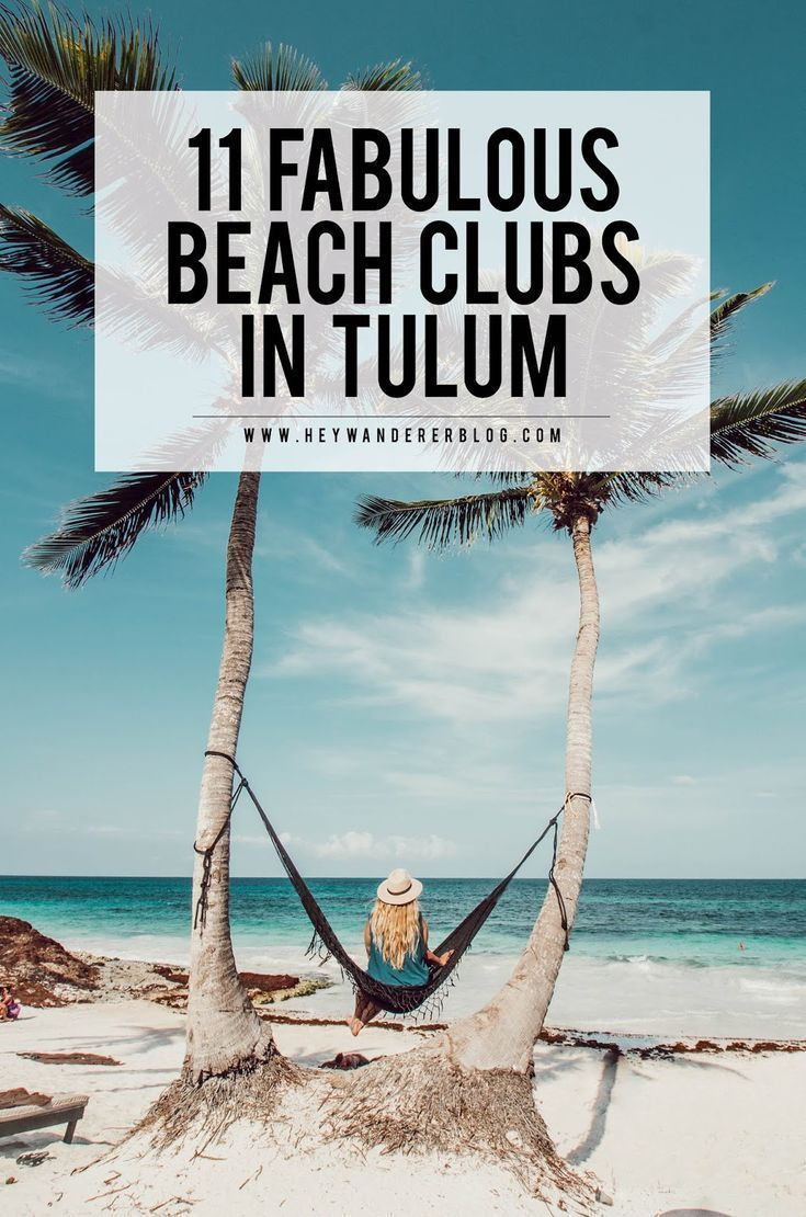 Tulum, Mexiko Reiseführer: 11 Fabulous Beach Clubs   – South and Central America Travel