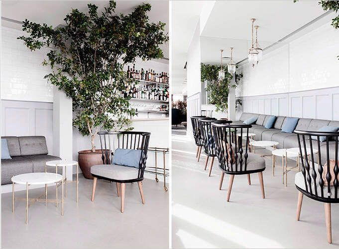 A Danish Scandinavian Style Restaurant Cotton Casa Cafe Interior Design Copenhagen Design Copenhagen Cafe