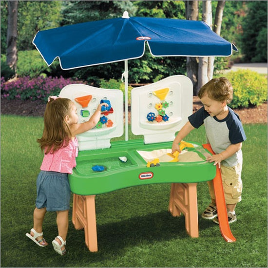 Little Tikes Sand Water Fun Factory Outdoor Areas