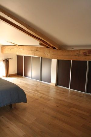 Placards en sous pente interiors attic ii pinterest woods and html for Amenagement placard chambre sous pente