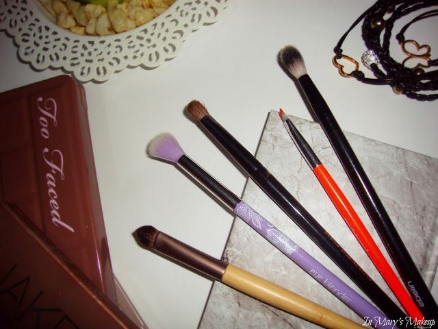 In Mary's Makeup: Favorite makeup brushes | Eyes