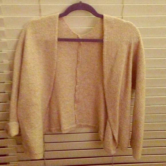 Brandy Melville cardigan Cardigan is shrunken but barley worn brandy Melville  Sweaters Cardigans