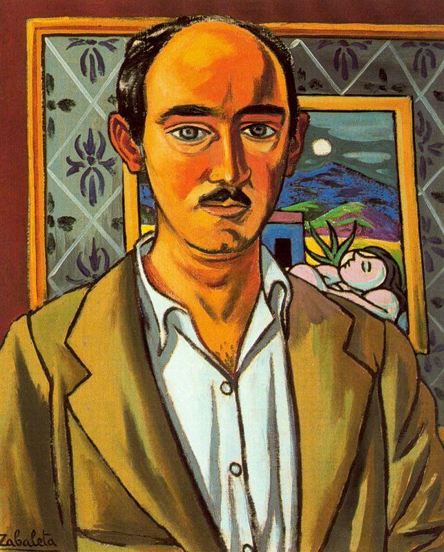 Self-portrait, 1956 Rafael Zabaleta