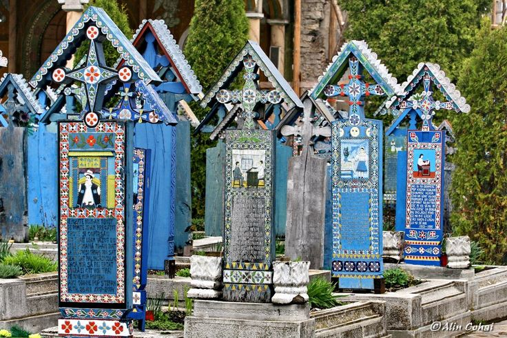 Cimitirul Vesel - Sapanta, Maramures (The Merry Cemetery)