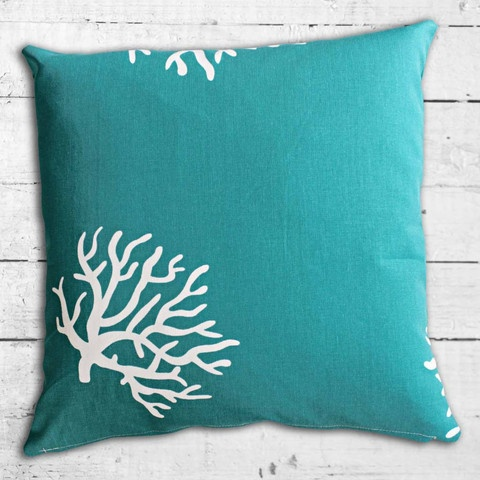 Cushions from Cushionopoly - Marine Life cushion cover. From the Beach House collection.