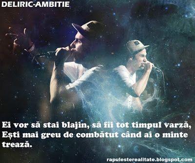 Rap Romanesc: Deliric-Ambitie