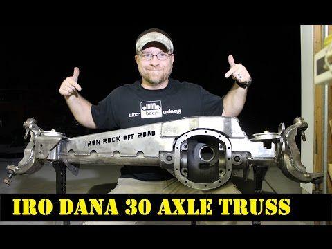 Dana 30 Over Axle Truss (XJ,TJ,ZJ) - Iron Rock Off Road