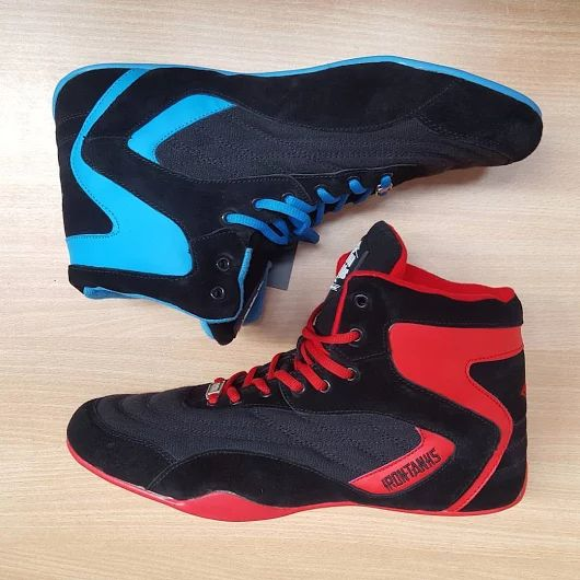 Blue Shoes Powerlifter