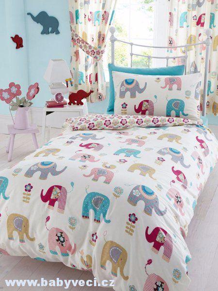 Dětské povlečení Slon štěstí > varianta slon štěstí