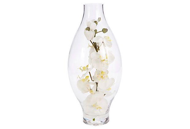 "One Kings Lane - Favorite Florals - 18"" Orchids in"