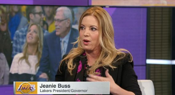 LA Lakers President Jeanie Buss appeared on ESPN to discuss the Henry Abbott article released last week which painted Kobe Bryant in a very negative light.