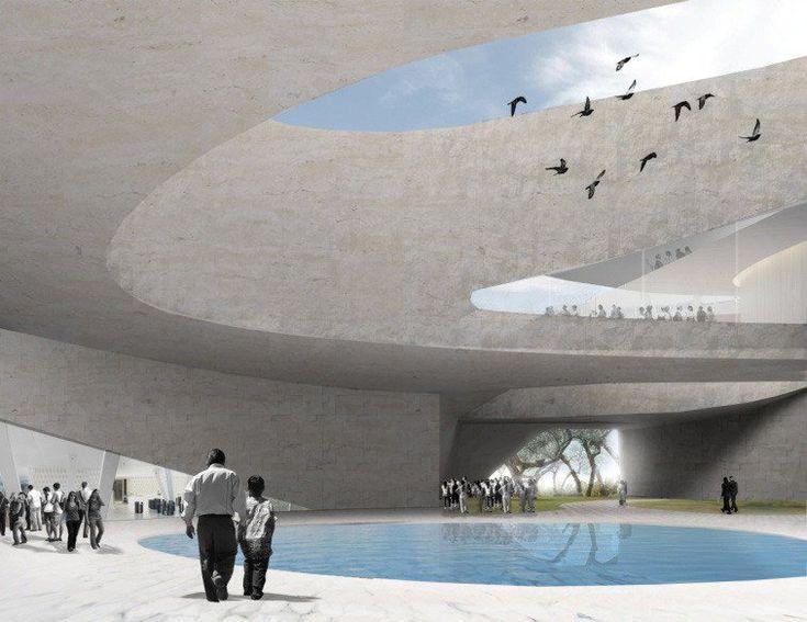 Museo di Scienze Ambientali dell'Università di Guadalajara, Guadalajara, 2010 - Snøhetta, Kjetil Traedal Thorsen, Tarald Lundevall, Craig Dykers