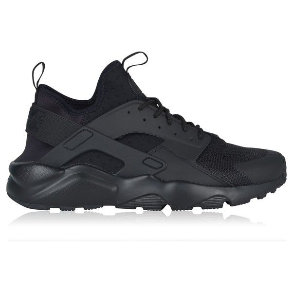 Nike Mens Athletic Shoe Black With Small Logo