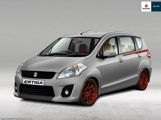 Modifikasi Suzuki Ertiga 2014