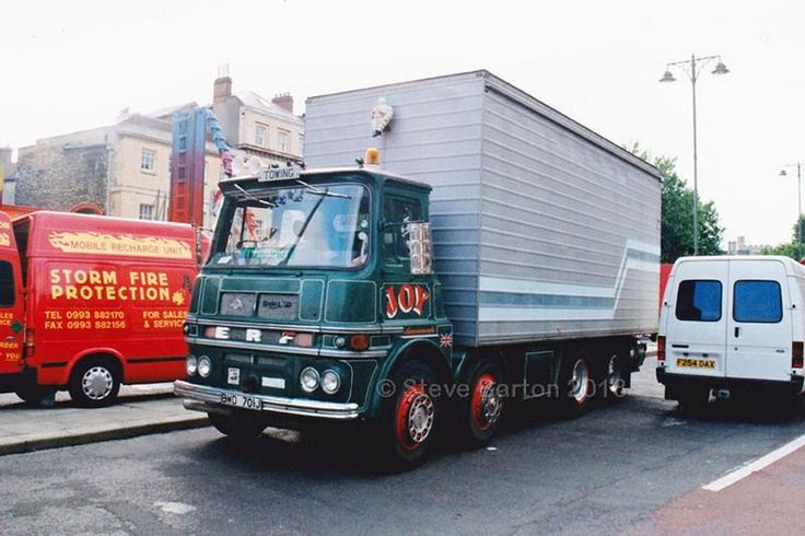 1970/71 ERF LV Trucks, Fire protection, Wagons