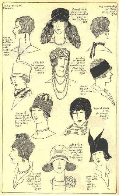 Hats & Hair 20s-30s