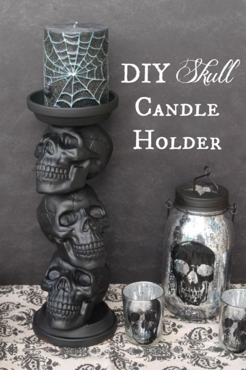40 quick and easy diy halloween decorations - Halloween Decoration Crafts