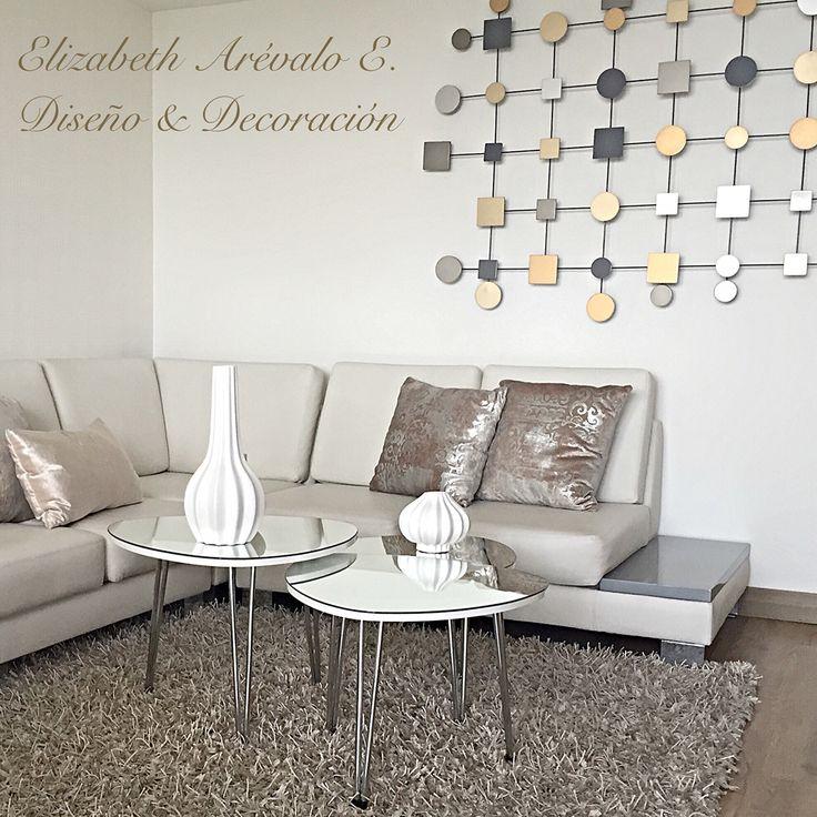 LivingRoom Elizabeth Arévalo Design.