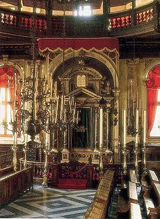 Venice Synagogue...is a must.  I gotta get to this place