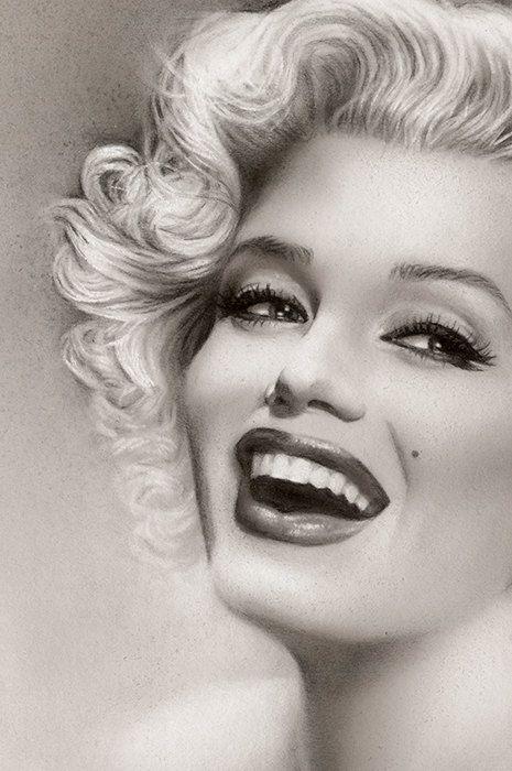 Marilyn Monroe Limited Fine Art Print of por MelodyOwensArt en Etsy