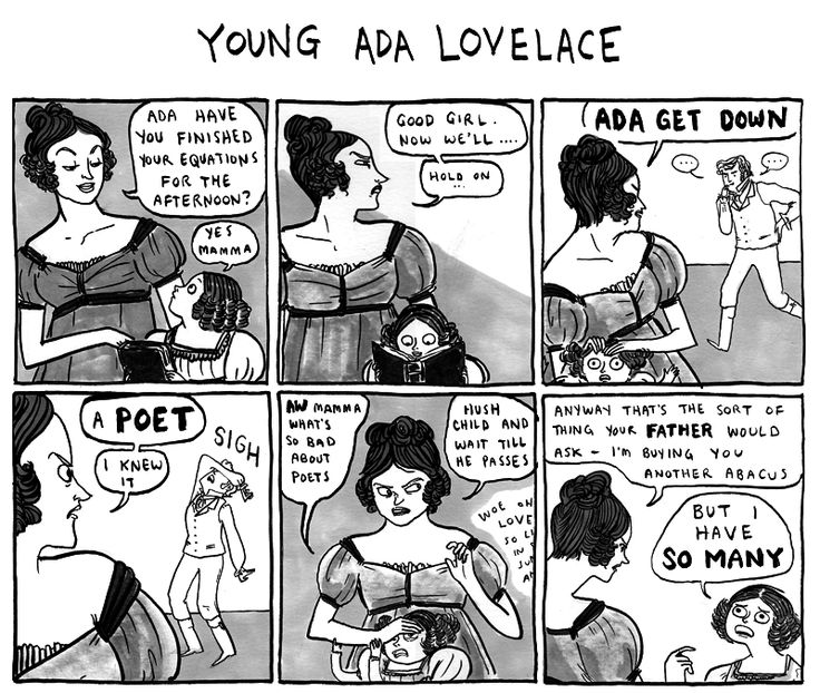 Poets ruin everything: Humor Books, Beaton Webcom, Harkness A Vagrant, Kate Beaton, Comic Books, Funny Stuff, Canada Http Www Harkavagr Com, Young Ada, No Lovelac